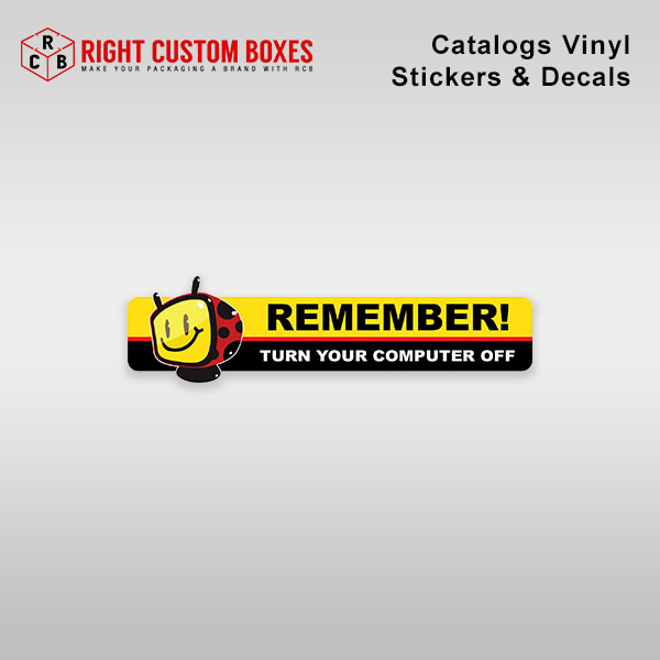Catalog Vinyl Stickers and Decals