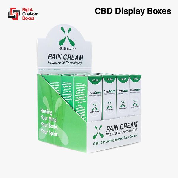 Custom CBD Display Boxes