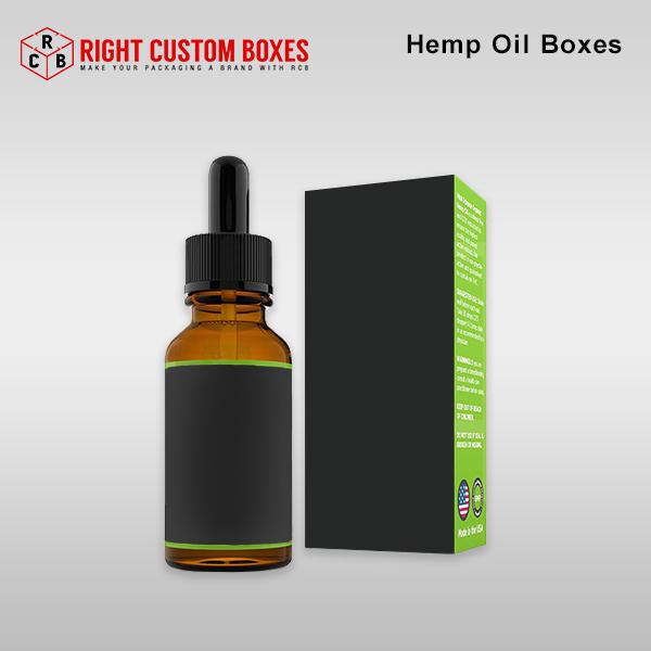 custom hemp oil boxes